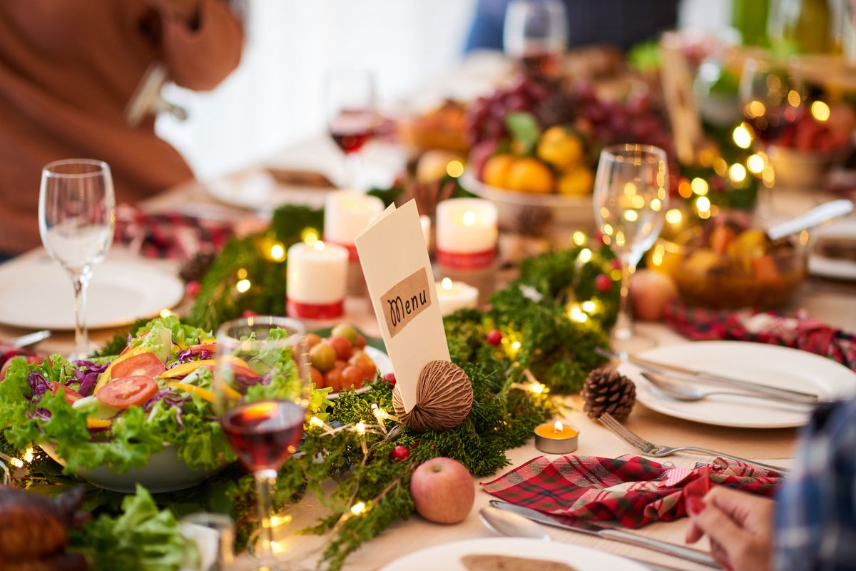Qualche consiglio per il menù di Natale
