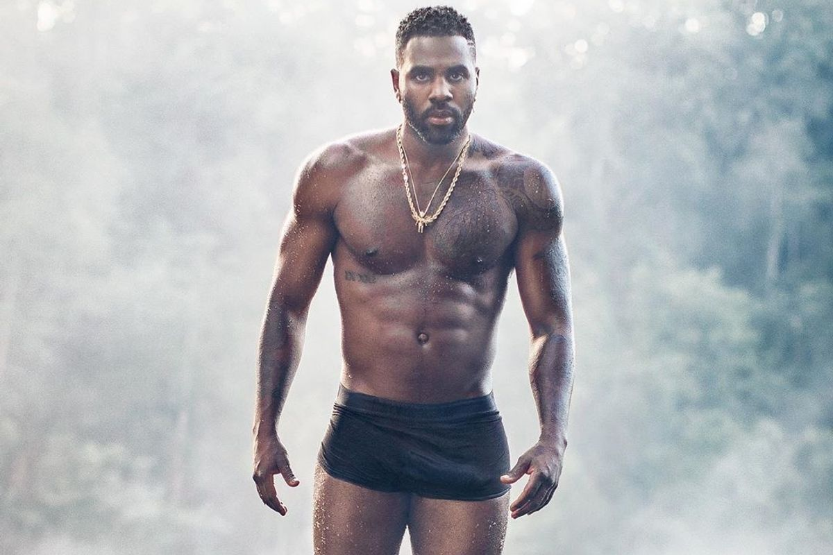 Jason Derulo Denies Photoshopping His Bulge