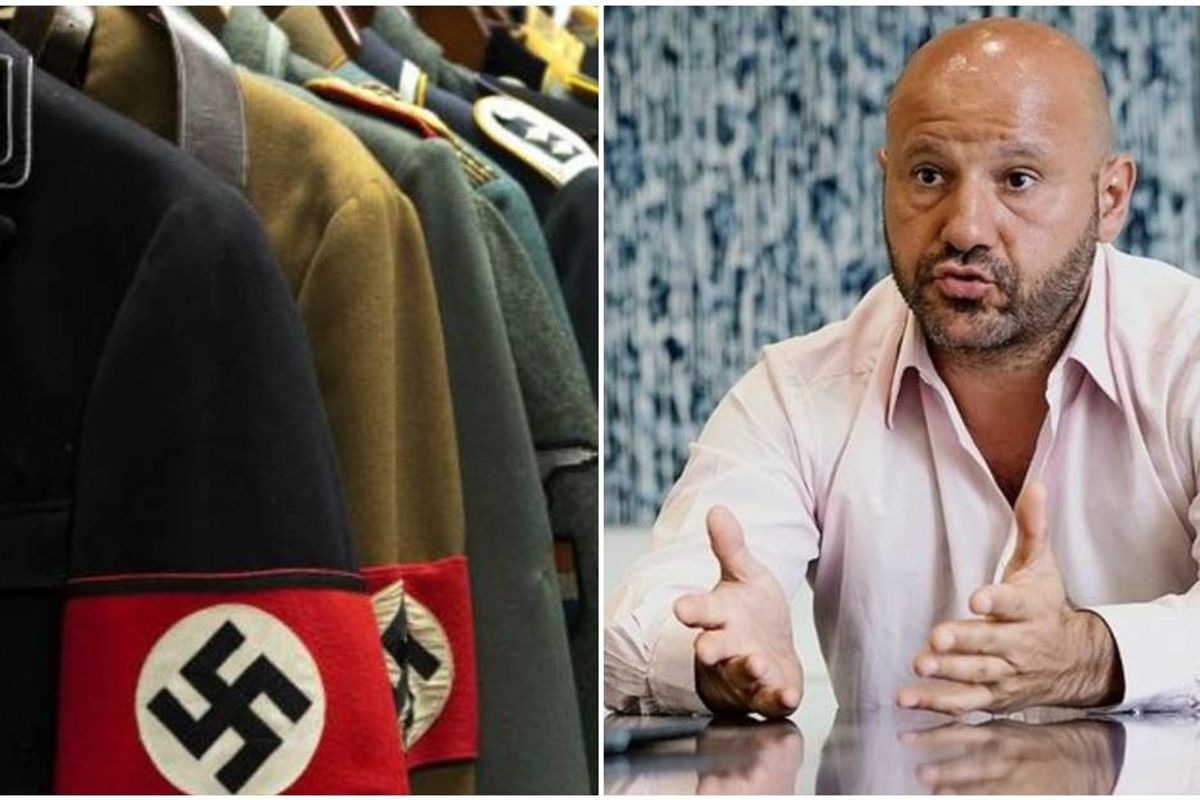 Businessman buys $660,000 worth of Nazi 'memorabilia' so it can't be used as propaganda