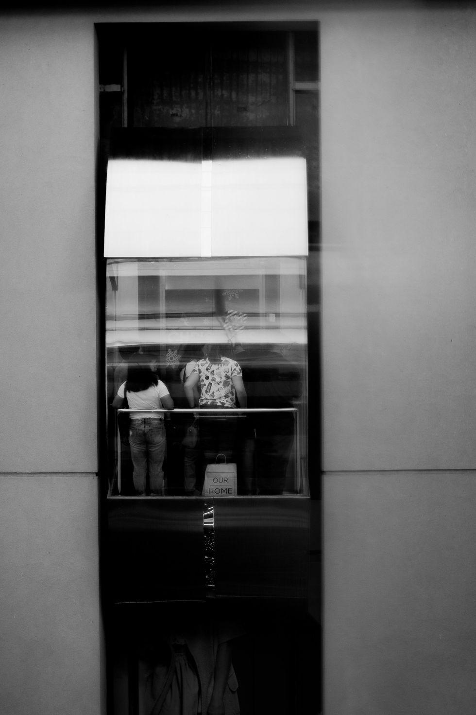 The Elevator Dilemma: A Poem