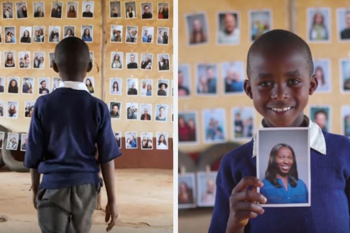 World Vision flips the sponsorship script by having children choose their own sponsors