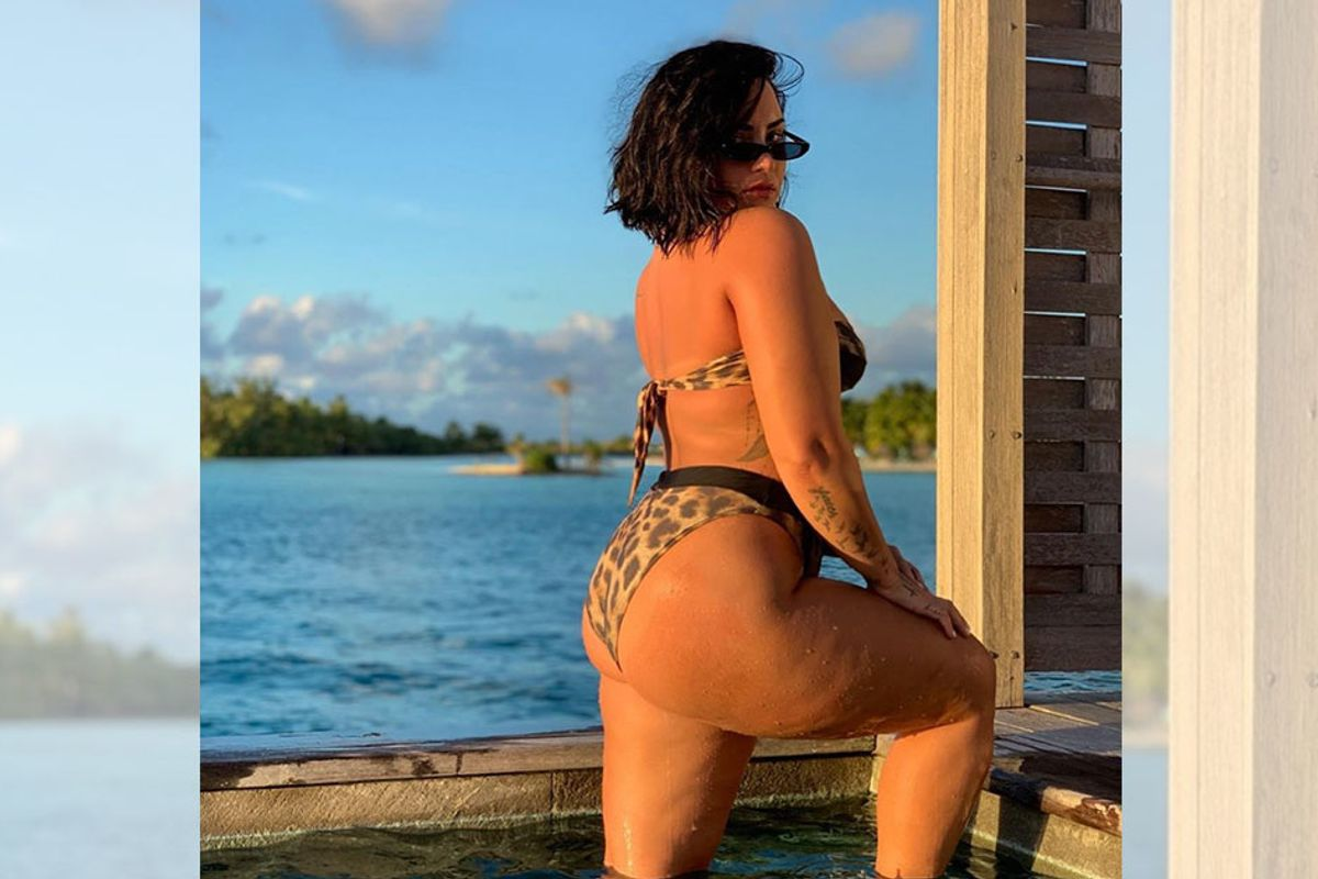 Demi Lovato celebrated her cellulite and inspired others to do the same