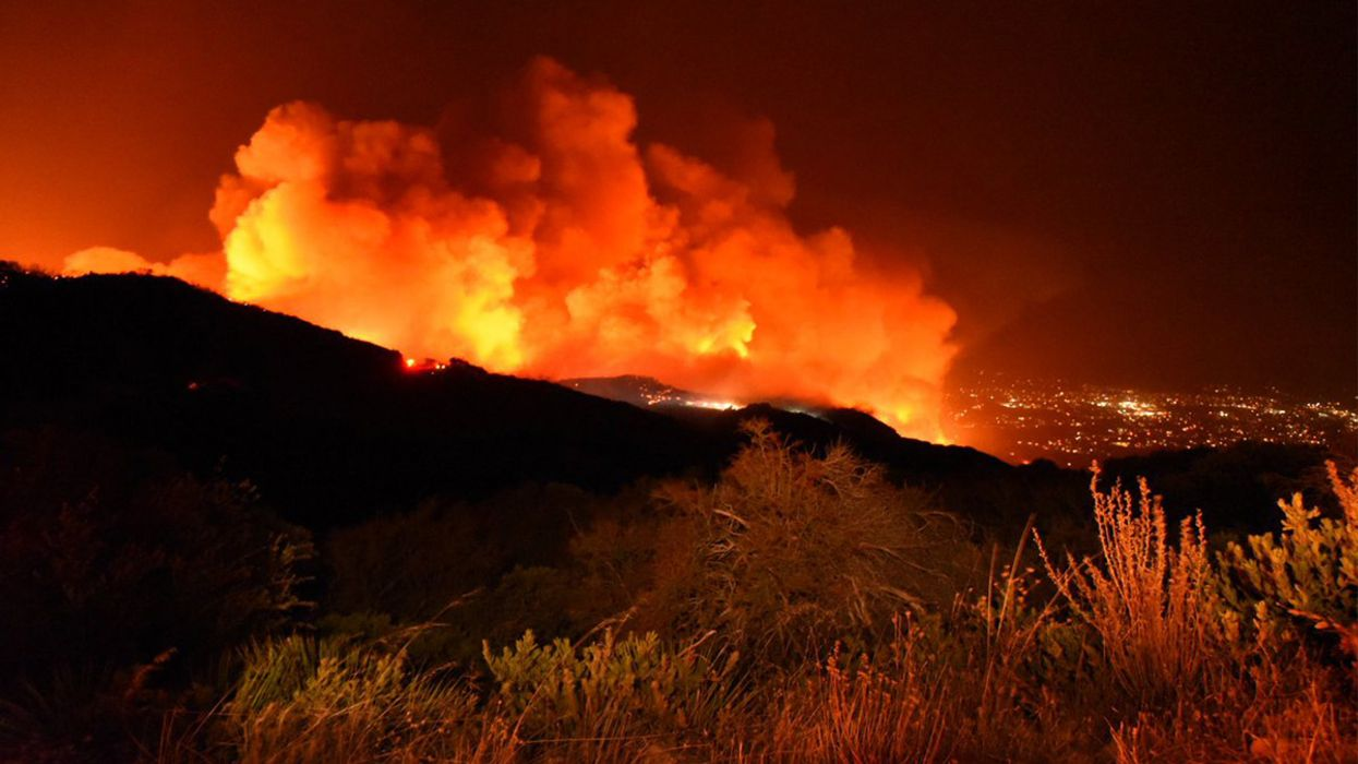 Santa Barbara Wildfire Burns 3,000 Acres in Five Hours, Forces 6,300 to Flee
