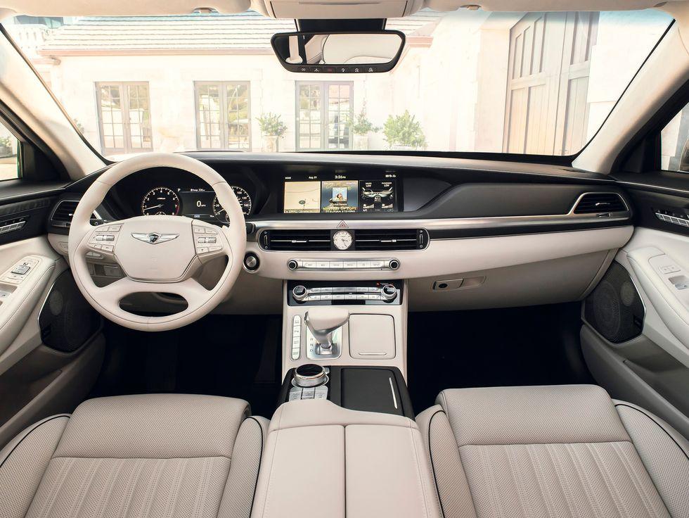 2020 Genesis G90 interior