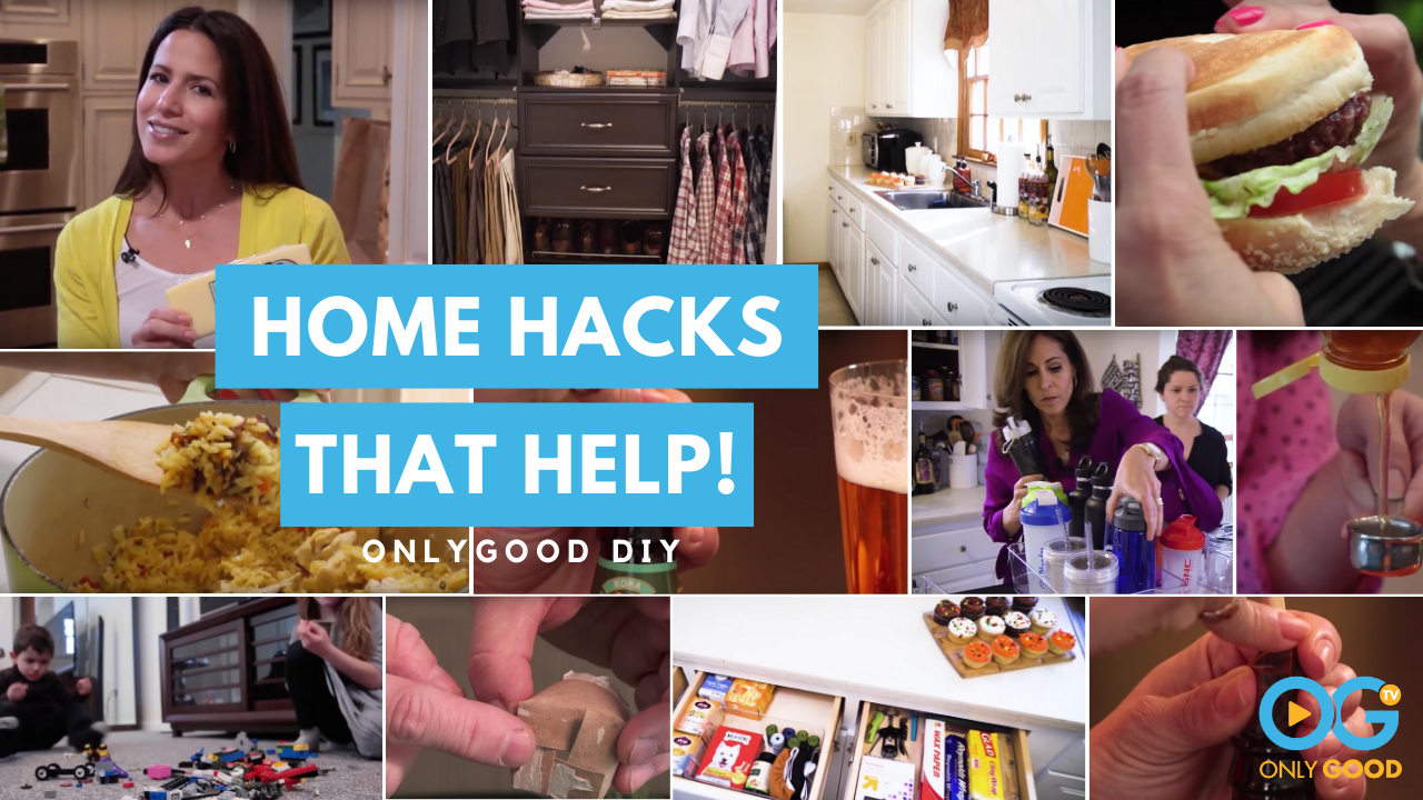 SERIES: Home Hacks That Help! - Helpful tips that can turn your tedious home chores into stress free fun tasks!