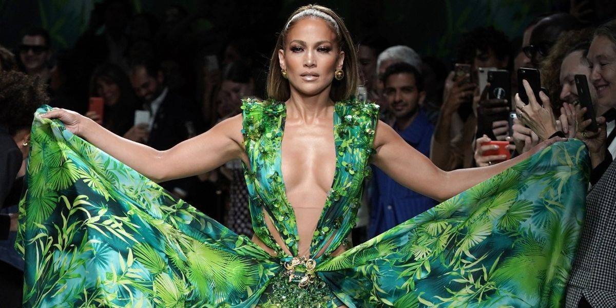 Versace Sues Fashion Nova Over Jennifer Lopez's Grammys Dress