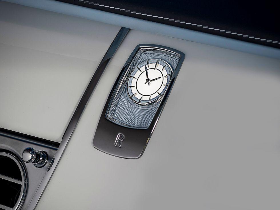 Rolls-Royce bespoke Wraith Peregrine Falcon