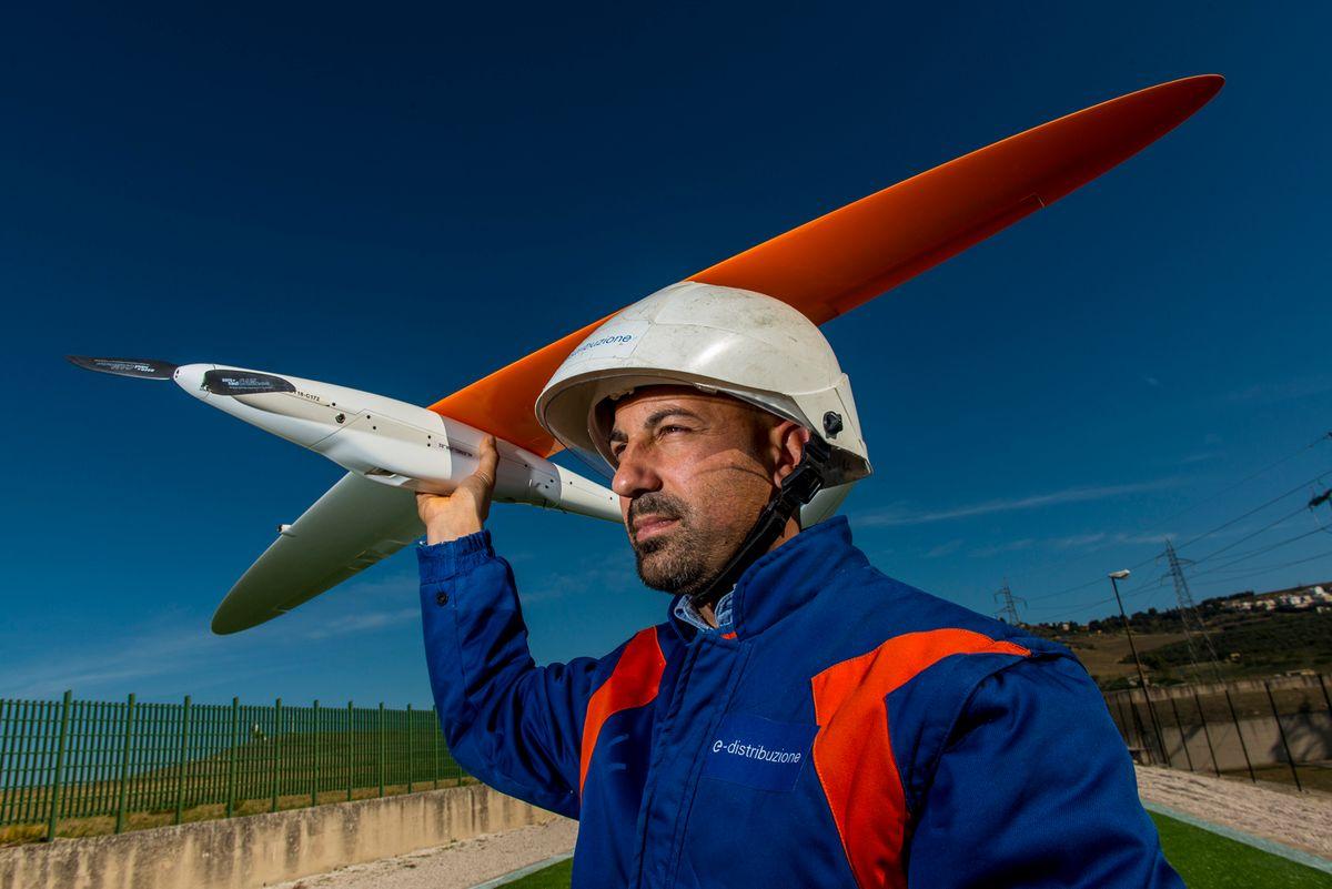 Calamità naturali e manutenzione straordinaria: la rete di droni di E-distribuzione aumenta l'efficienza degli interventi