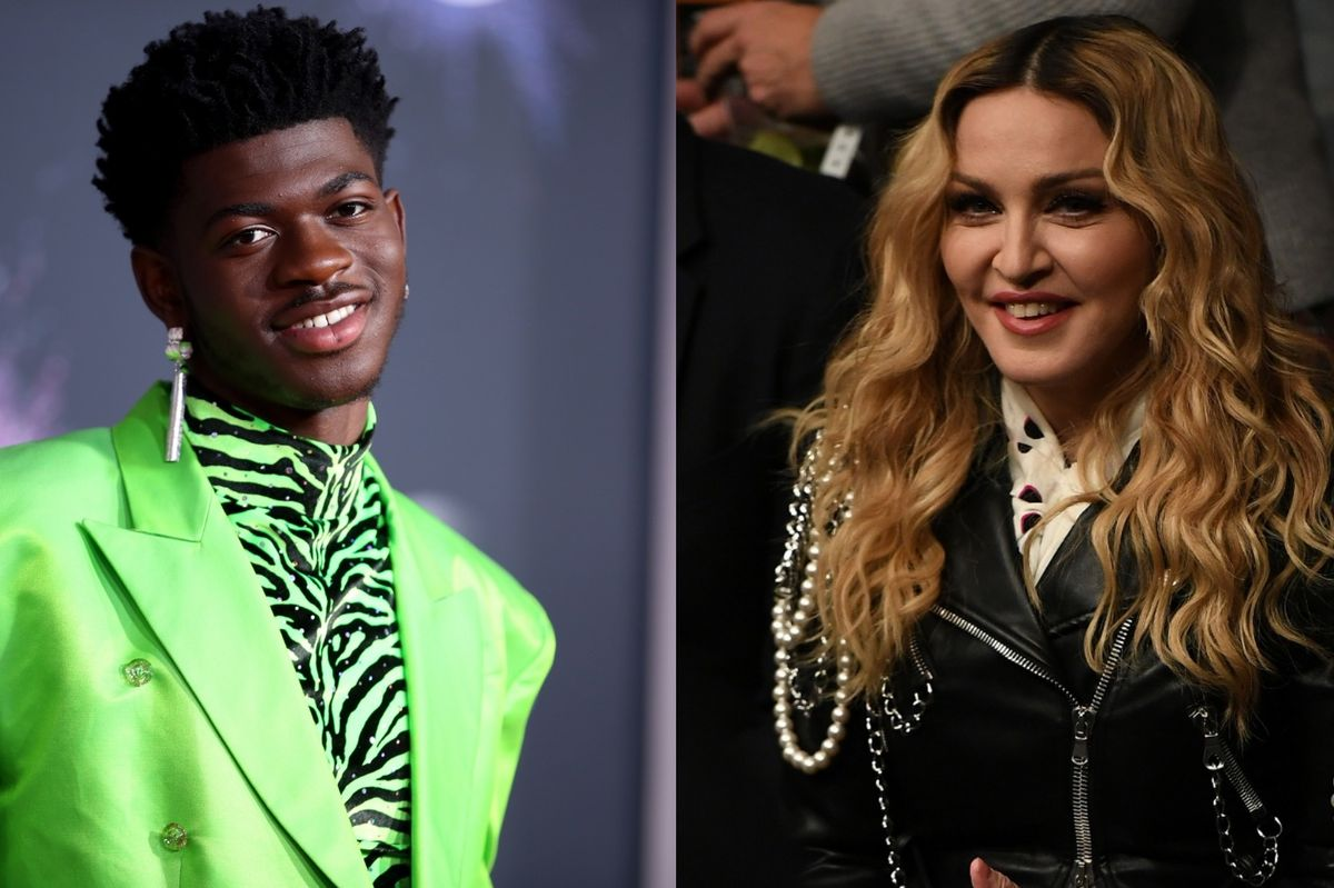 Madonna and Lil Nas X Bond Over Beer, Horses, and Astrology