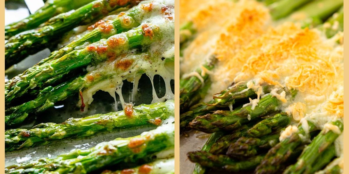 Make Pinterest's Top Keto Cheesy Garlic Roasted Asparagus Recipe