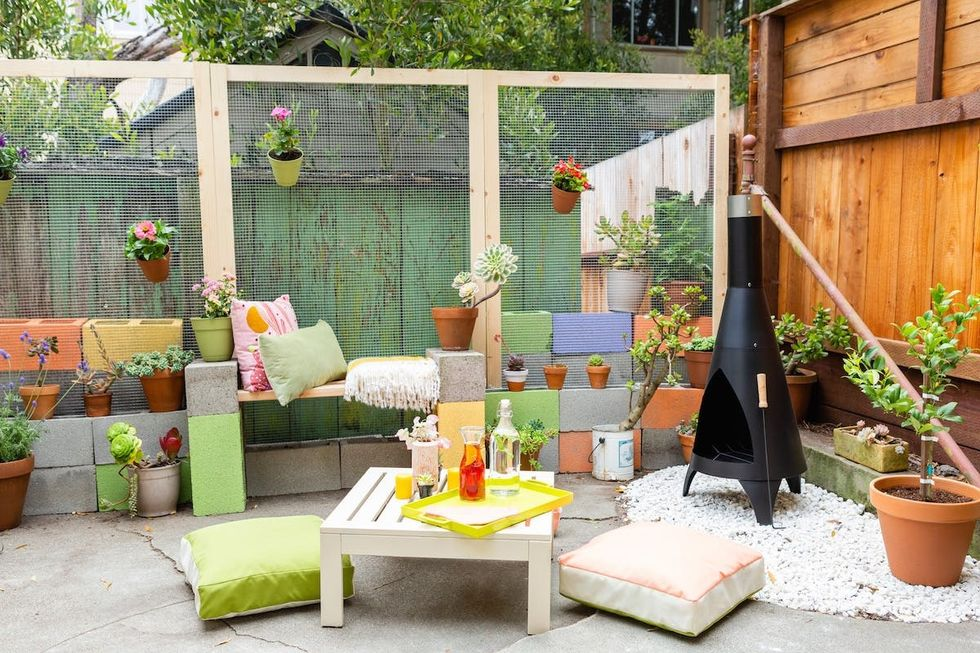 This Tiny Yard Makeover Is Perfect For Outdoor Entertaining Brit