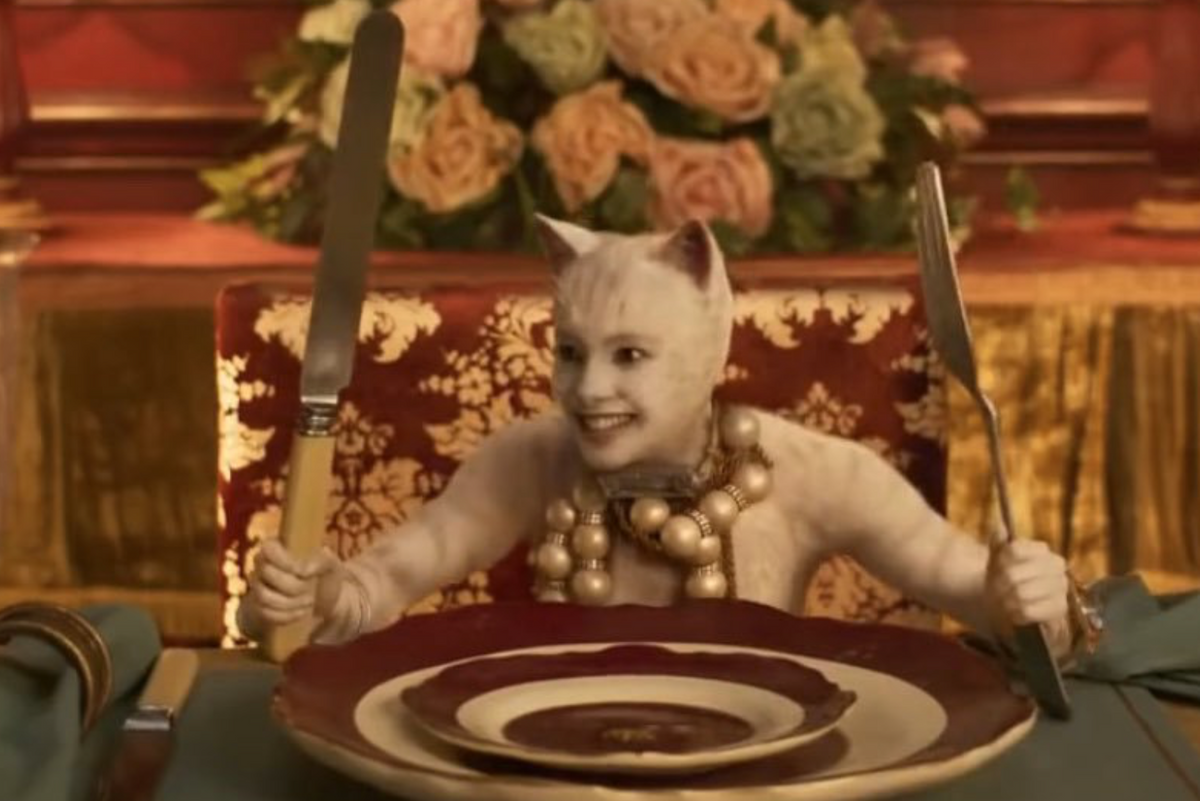 'Cats' Takes on the Woman Yelling at Cat Meme