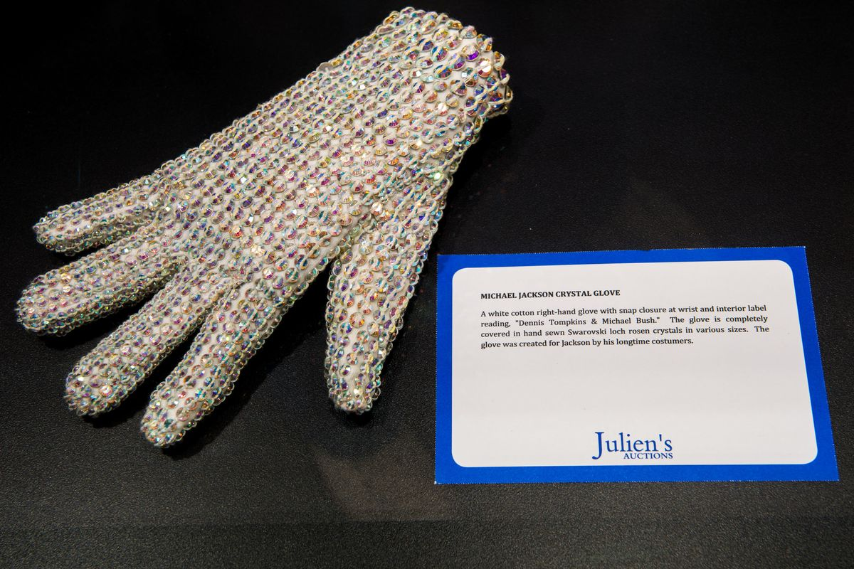 Michael Jackson's Glove Stars in Johnny Depp-Produced Musical