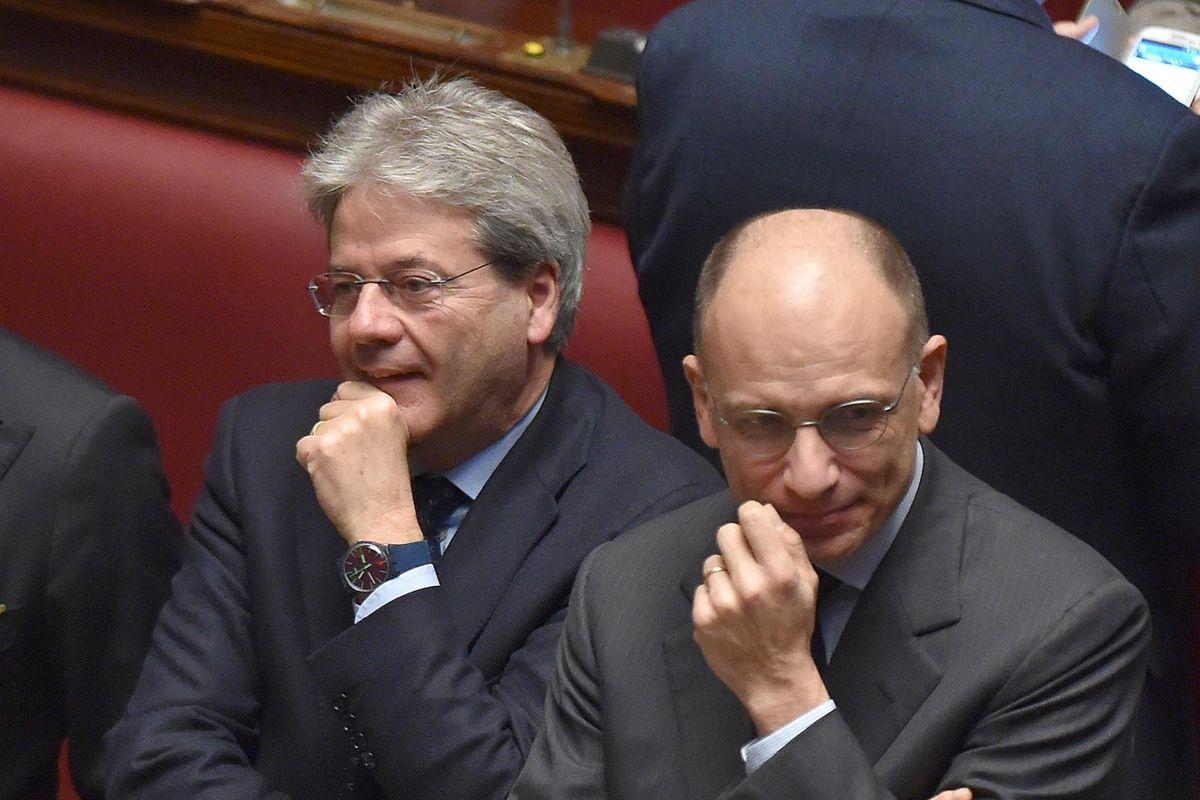 Due ex premier dem in campo contro l'Italia