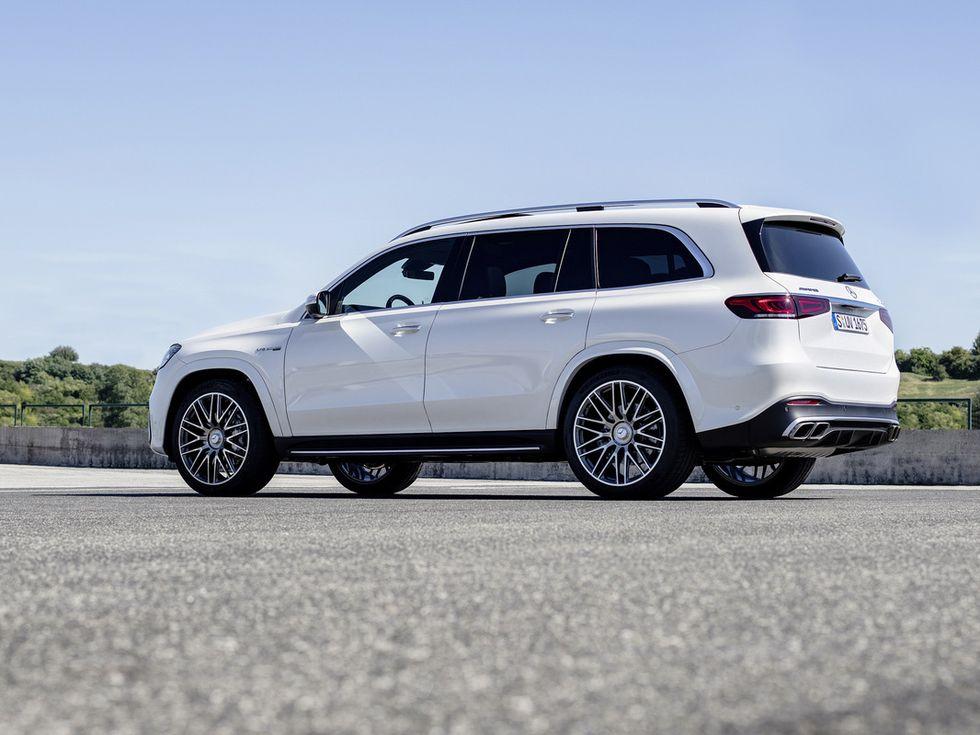 2021 Mercedes-AMG GLS 63 profile wheels windows