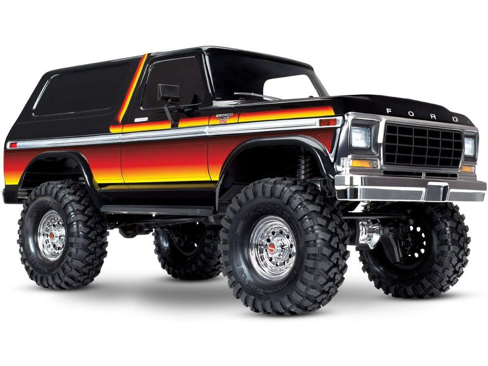 Traxxas TRX-4 Ford Bronco 1/10 Trail and Scale Crawler, Sunset