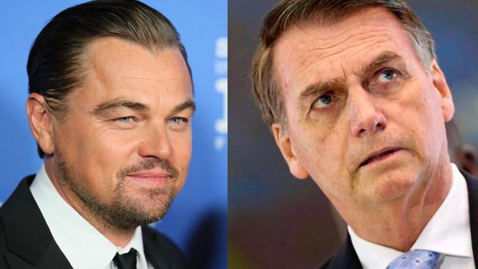 DiCaprio Responds After Brazil's Bolsonaro Claims He Is Contributing to Amazon Fires