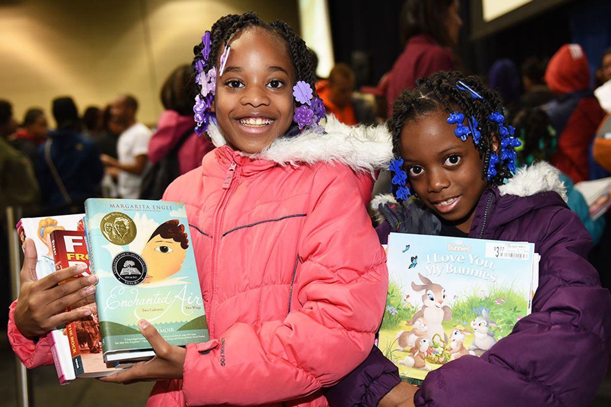 $1 can lead to 1 million books for kids in need this holiday season