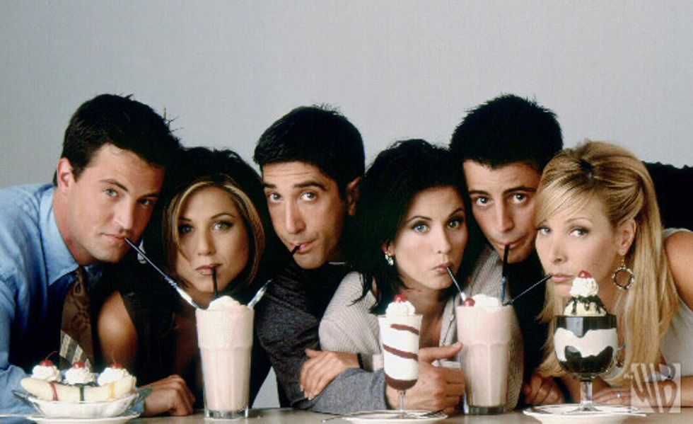 """Finals Week Told By The Cast Of """"Friends"""""""