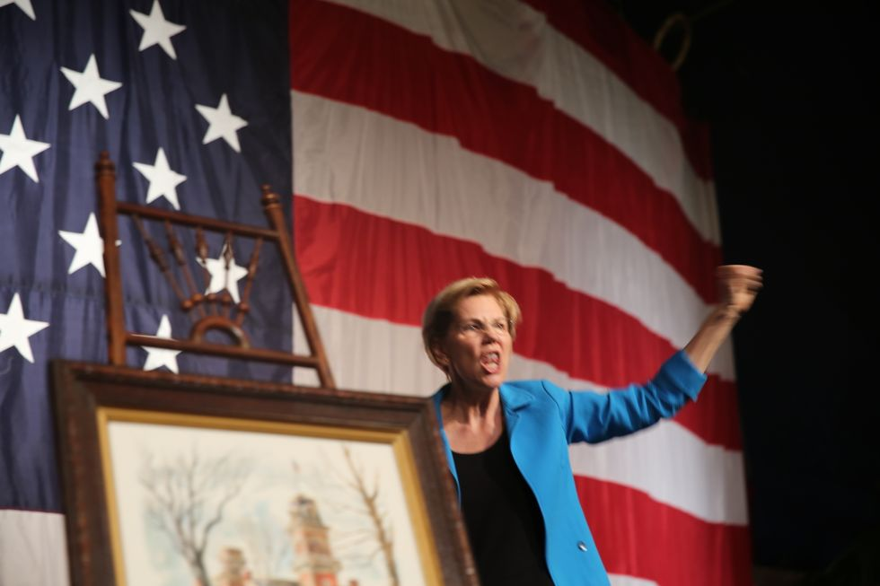 Partner Content - Ryan: Elizabeth Warren does the Wing Ding