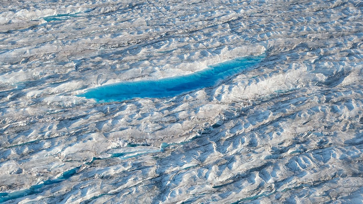 Greenland Ice Sheet Melt Creates Huge Waterfalls, Increasing Concerns About Sea Level Rise