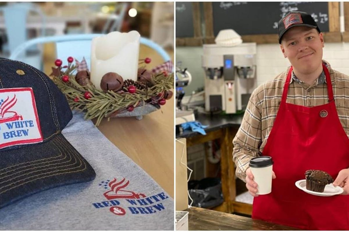 A man with Autism was tired of rejected job applications, so he opened his own coffee shop