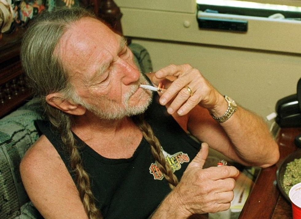 Willie Nelson Is No Longer a Pothead