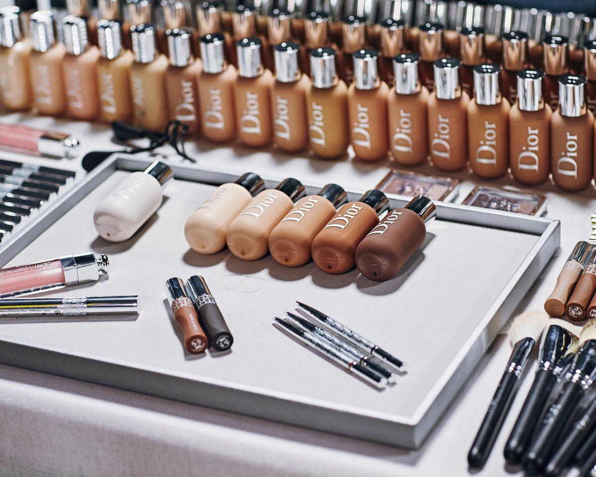 The Makeup At Dior's Miami Show Made 'Euphoria' Eyes Look Subtle