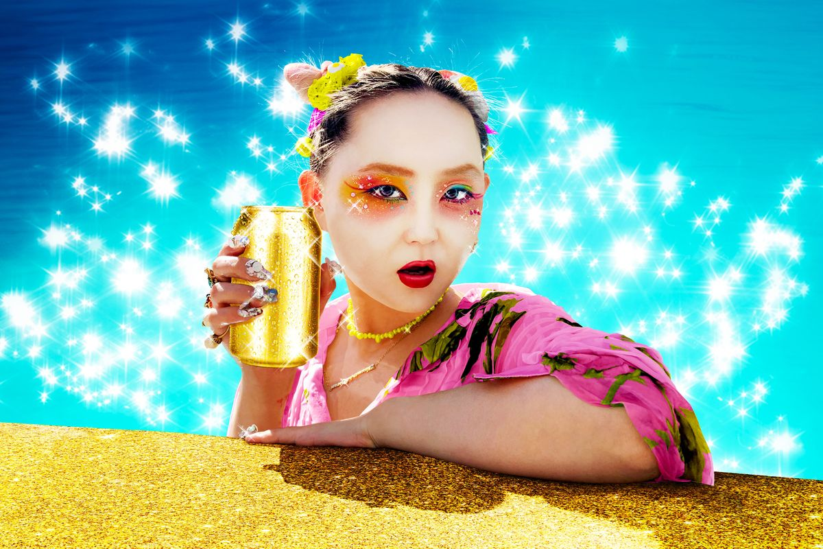 Drink Up! Alice Longyu Gao Is Swimming in 'Rich Bitch Juice'