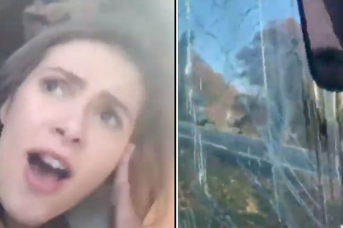 Two teens got called out for making a TikTok video after a car crash, but they say it helped them 'cope'