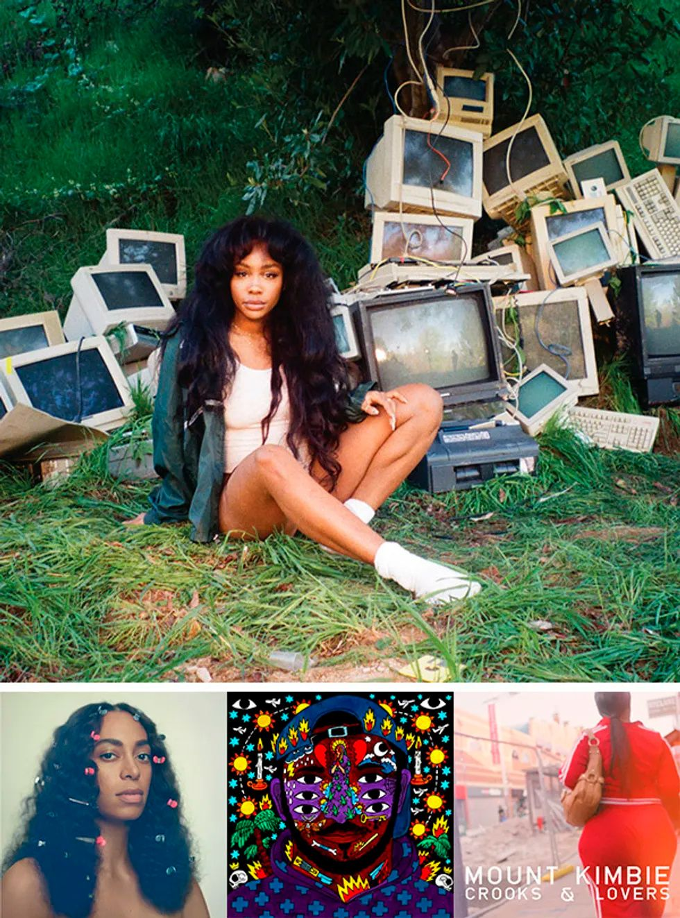 sza billie eilish beyonce albumes
