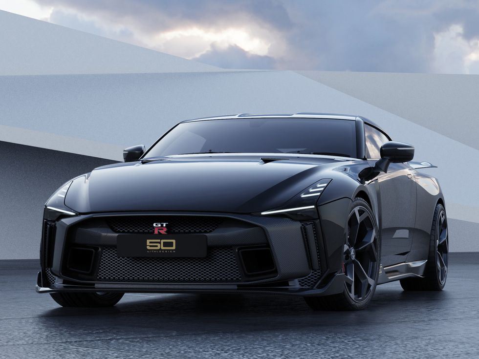 Nissan GT-R50 by Italdesign black