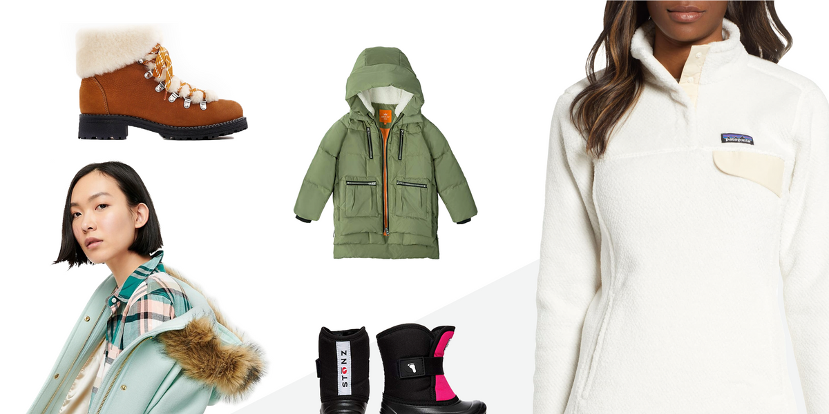 23 coats + boots to keep you and your kids cozy all winter long ❄️