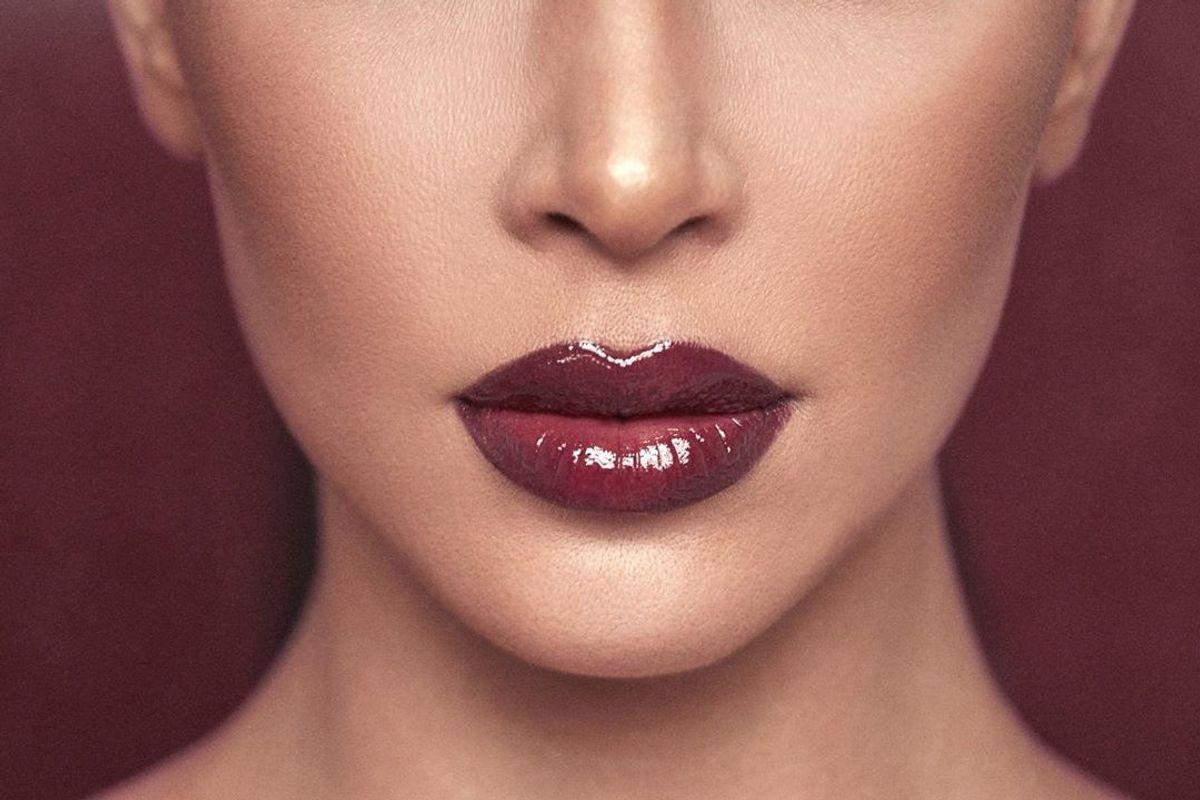 Happy Holidays From Kim Kardashian's Lips