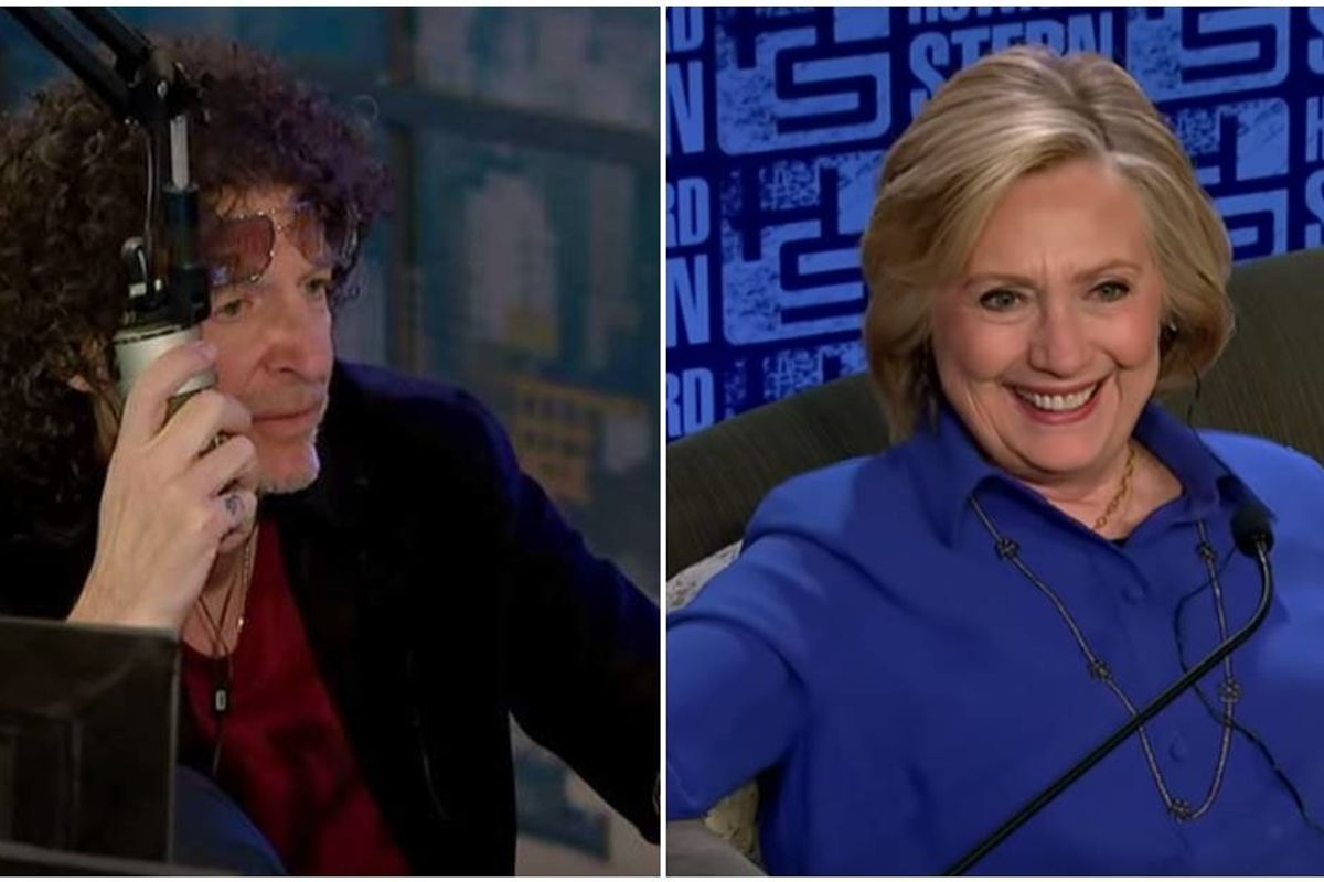 The 6 most important quotes from Hillary Clinton's epic interview with Howard Stern