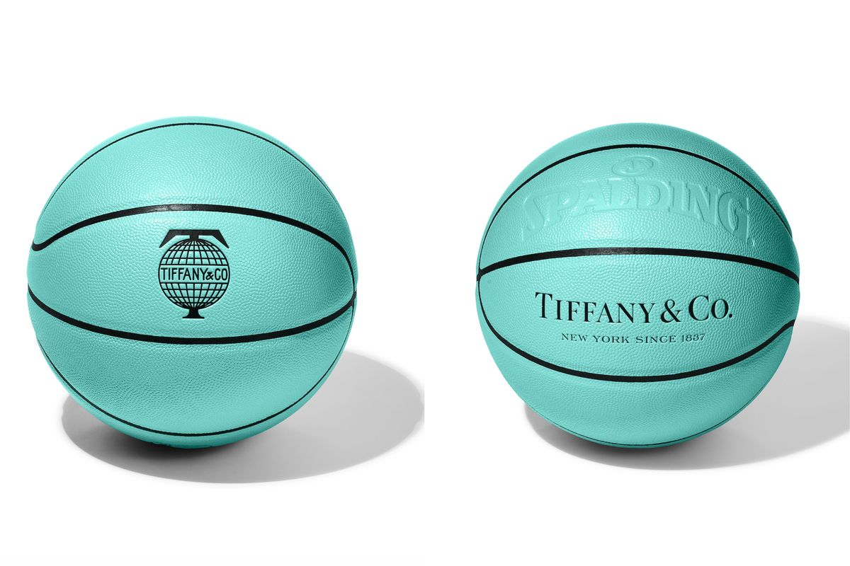 Suddenly I'm Into Sports With This Tiffany Blue Basketball