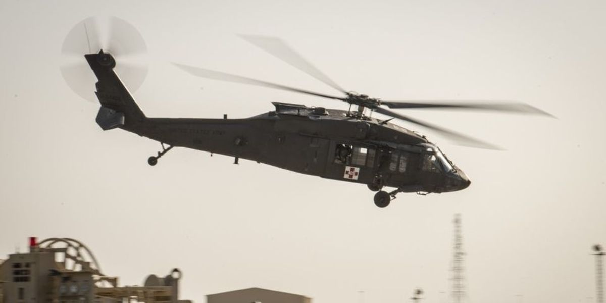 Army National Guard UH-60 Black Hawk helicopter goes missing in Minnesota