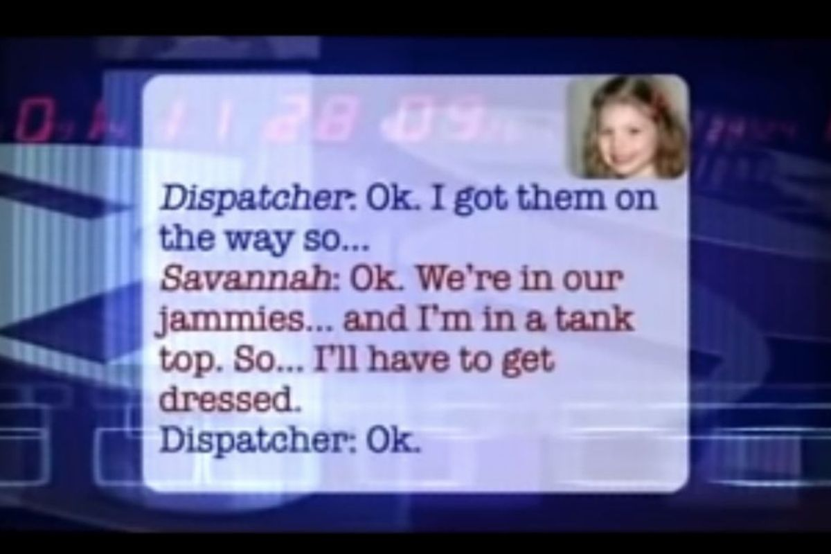 A man called 911, then his 5-year-old picked up the phone. Life-saving adorableness ensued