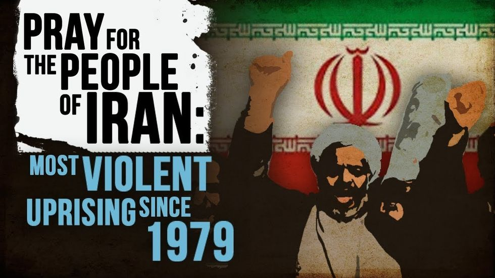 Partner Content - PRAY FOR THE PEOPLE OF IRAN: Most violent uprising since 1979