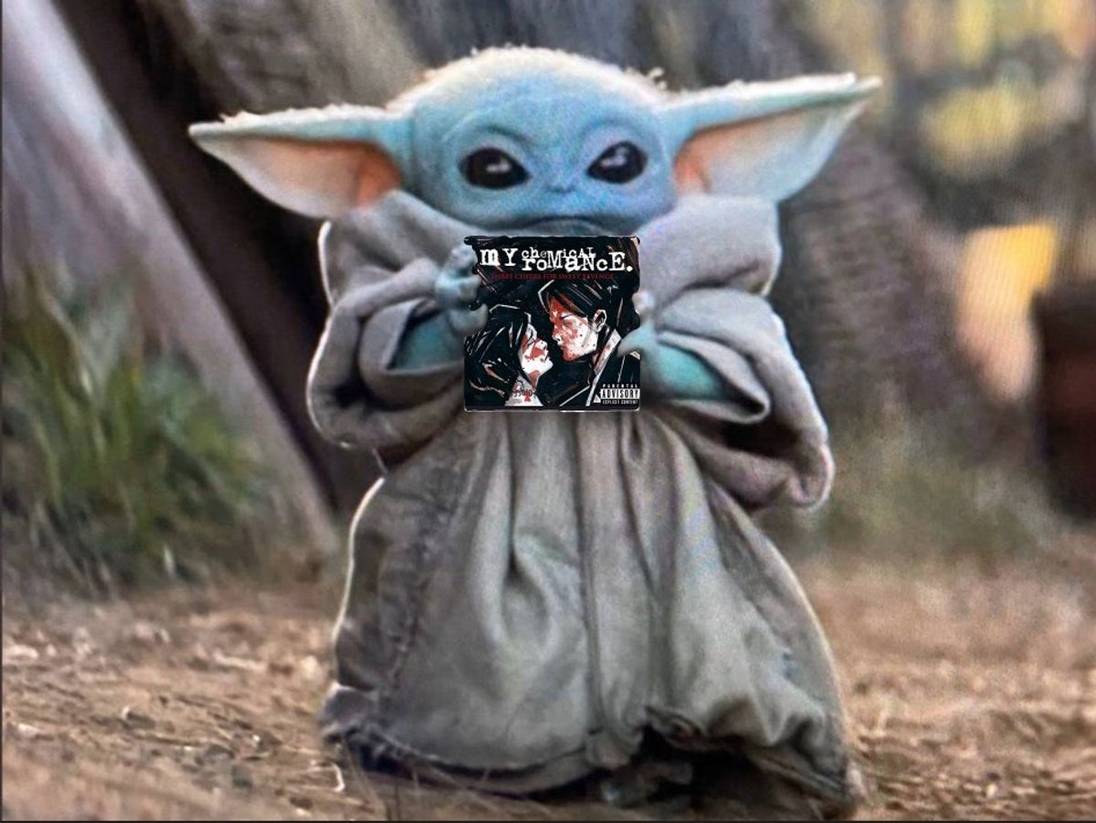 Baby Yoda Is Emo and We Love That