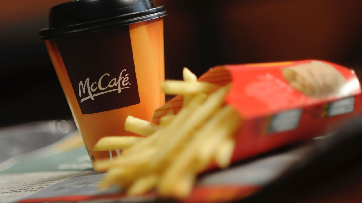 Police identify the culprit wrote 'f***ing pig' on cop's McDonald's coffee cup, and now he's looking for new employment