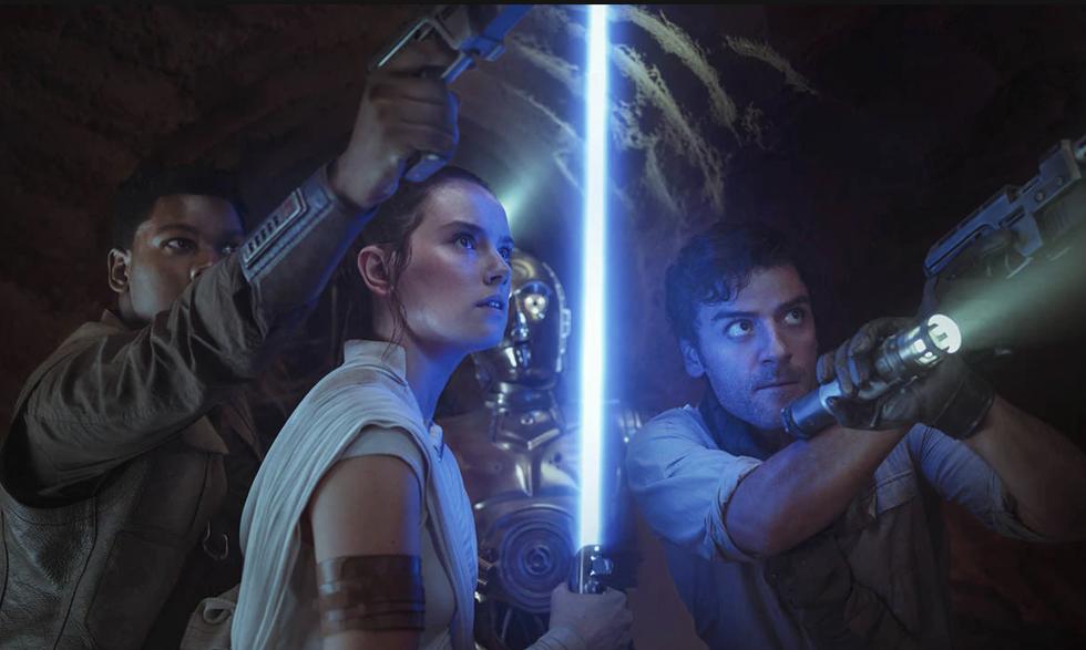 """The Rise Of Skywalker"" Has Risen On Disney"
