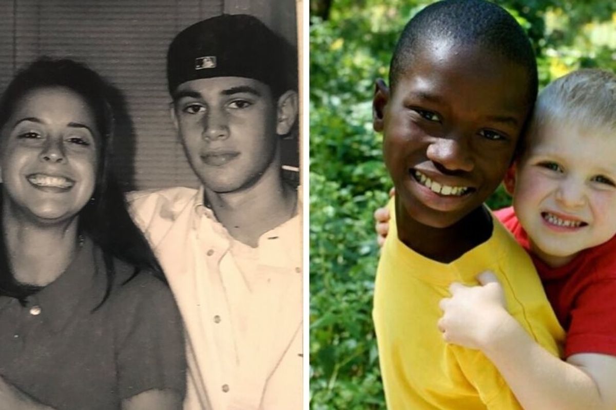 When childhood photos remind us of our most precious relationships