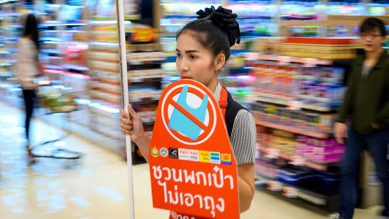 Thailand Begins the New Year With Plastic Bag Ban