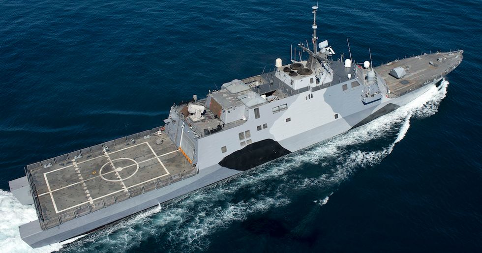 The Navy wants to ditch 4 of its 'little crappy ships' more than a decade early