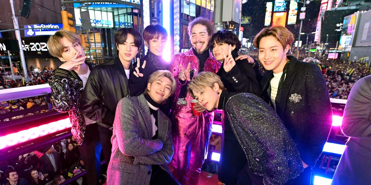 BTS Stole New Year's Eve
