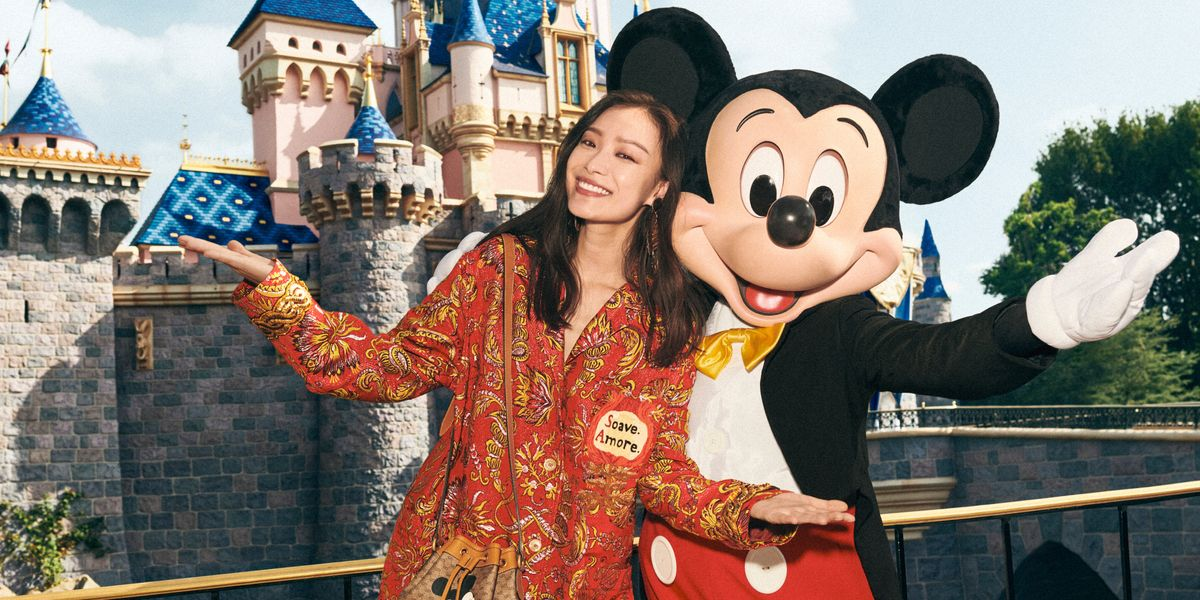 Gucci Takes Over Disneyland in Style