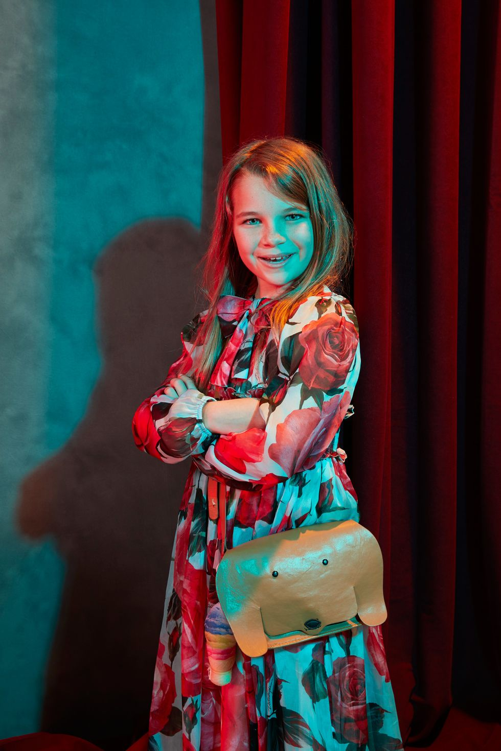 Actress Reagan Revord of TV show Young Sheldon.