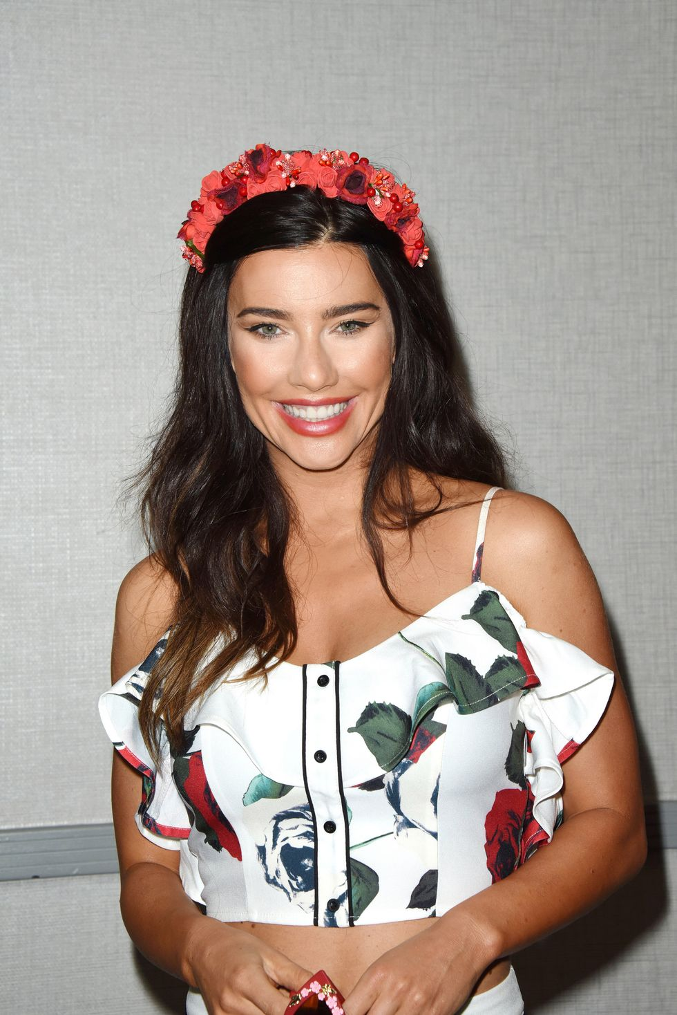 Actress Jacqueline MacInnes Wood of soap The Bold and the Beautiful.
