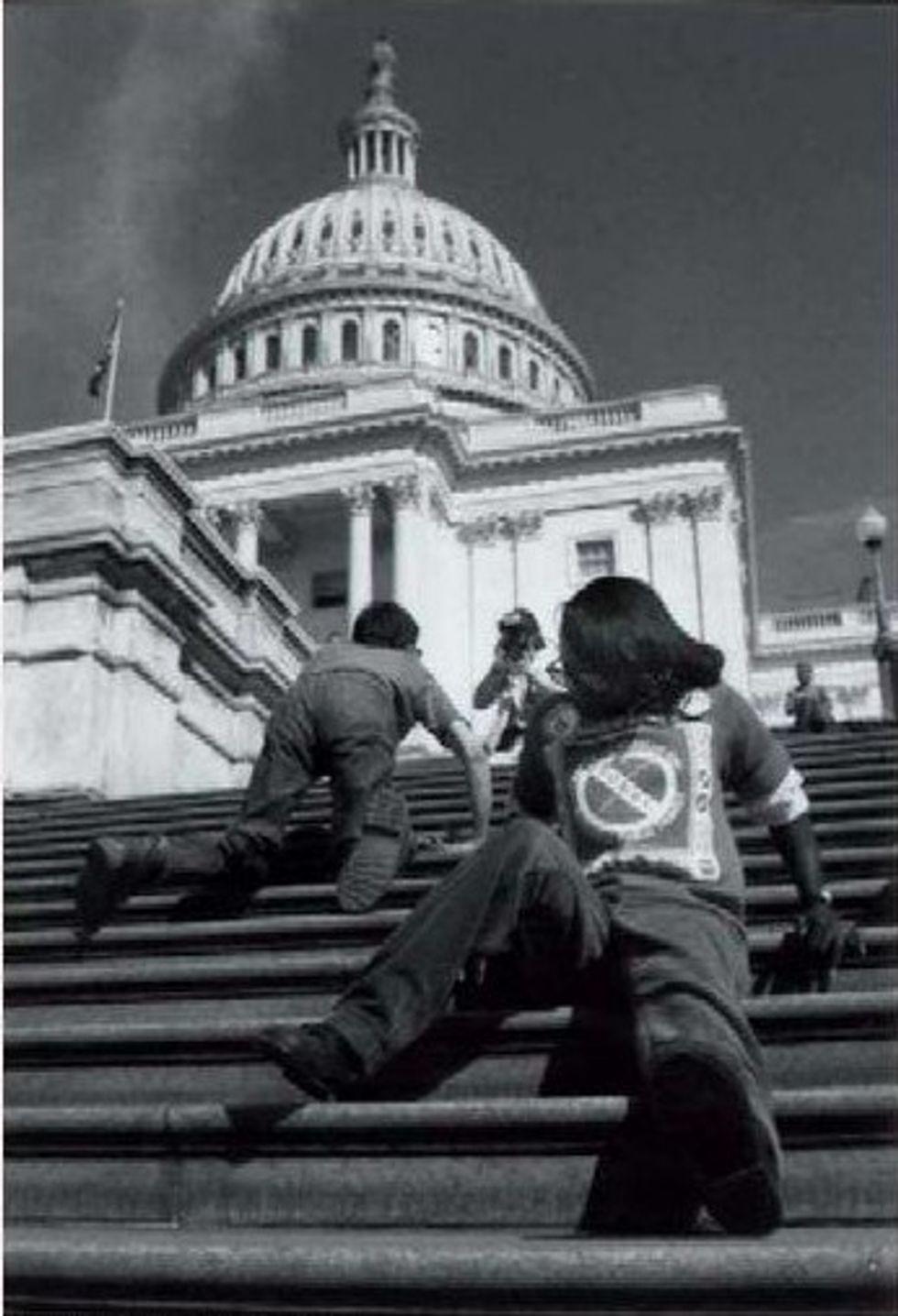 The 'Capitol Crawl,' 1990
